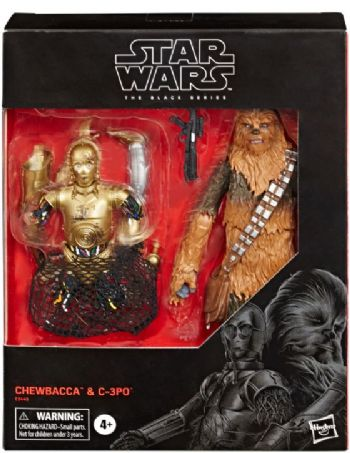 "Star Wars The Black Series ESB Chewbacca and C-3PO 6"" Figure Double Pack - Pre-Order  Full Payment"